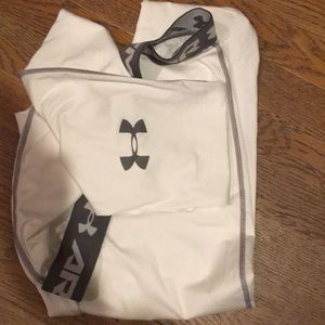 Under Armour Pants - Under Armour compression cold gear xxl white pants